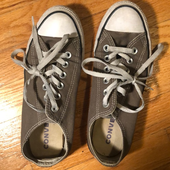Converse Shoes | Grey Size 75 Womens
